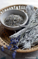 wild dried lavender leaves, thespartantable, handpicked