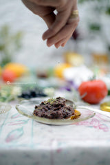 handmade olive paste, thespartantable