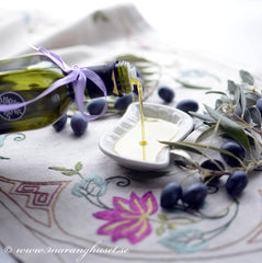 Organic Kalamata Olives and EVOO, thespartantable