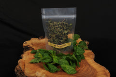 peppermint organic dried in zip Pet bag thespartantable
