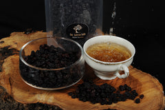 black raisins with greek mountain tea thespartantable