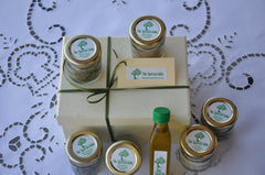 "Gift  parcel, ""The Ephors"" series : ""The Wise Decision"", Wild  Herbs EVOO and Sea Salt, A Gift that can't be missed"