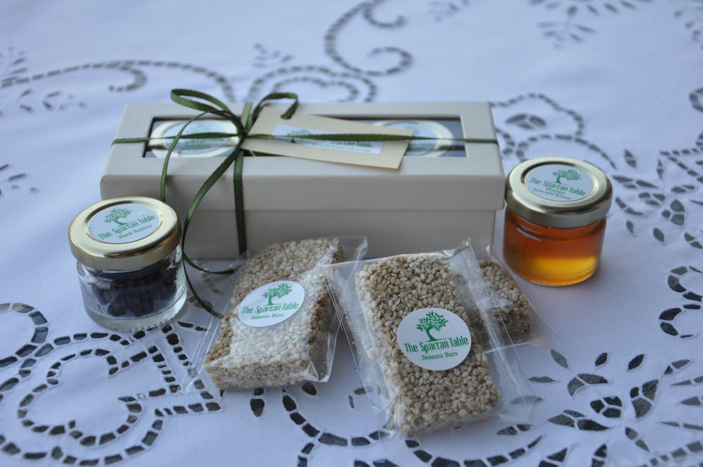 honey pack, gift box, thespartantable, mountain's treasures