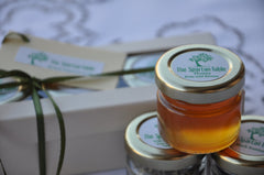 honey glass jar, gift box , thespartantable