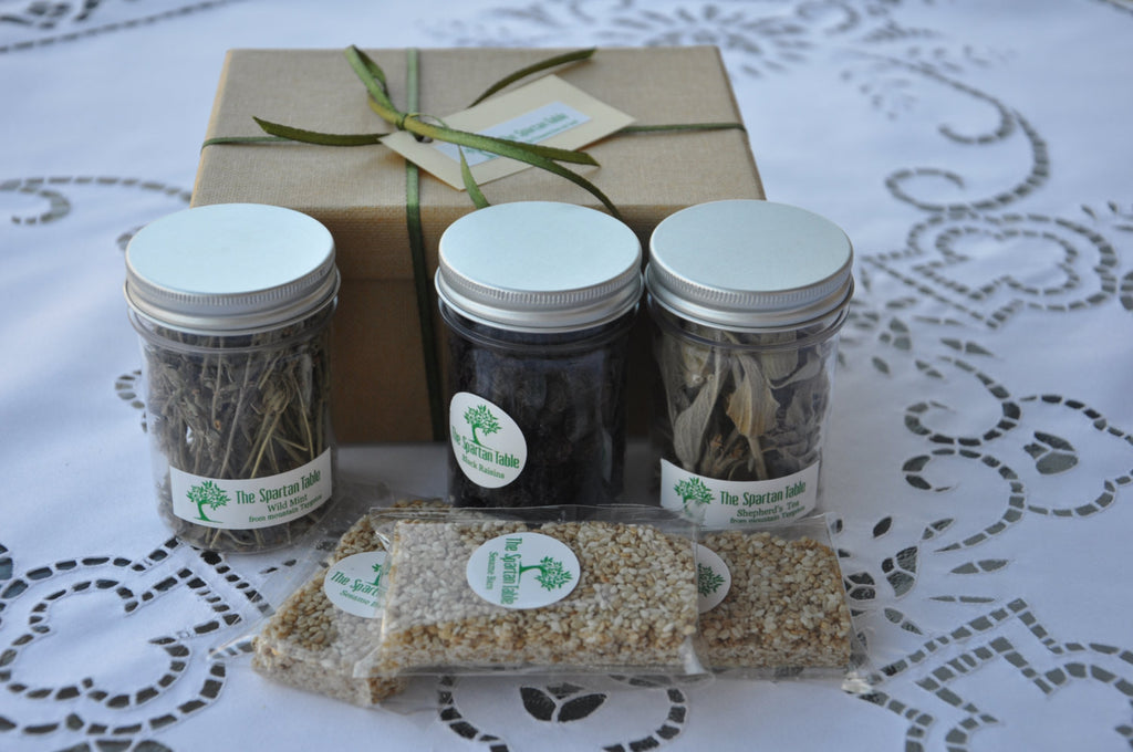 the citizens gift box, thespartantable, Wild Dried Herbs from Spartan Land