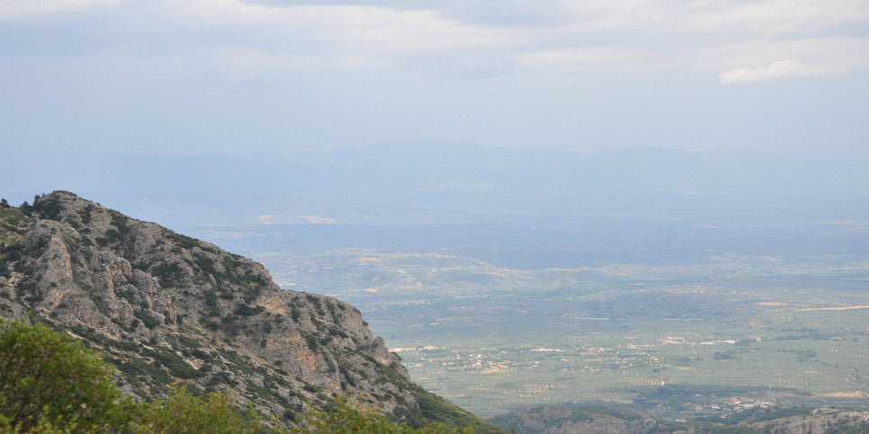 View of Spartan Valley from Taygetus