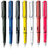 LAMY safari colorful Fountain Pens , Blue White Red Yellow Green - Just what he needs.... - Itsuniquelymine