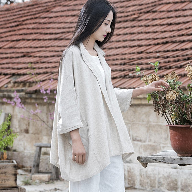 Beautiful Long and Loose blouse or jacket - Itsuniquelymine
