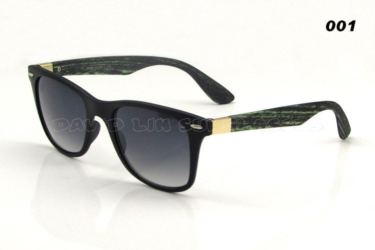 Itsuniquelymine Men and Women's sunglasses with Black bamboo handles.