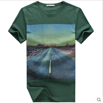 2017Stylish Men's cotton T shirt