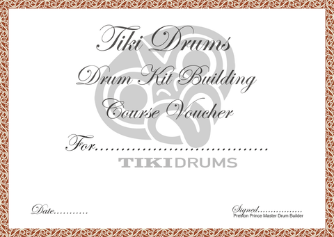 Drum Kit Building course voucher