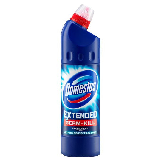 Domestos Extended Germ-Kill Bleach Original with CTAC-Pack of 9