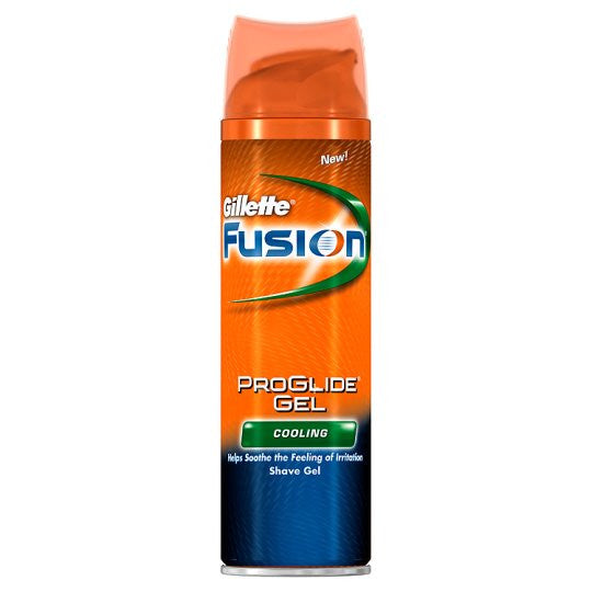 Gillette Fusion Proglide Cooling Shaving Gel 200ml