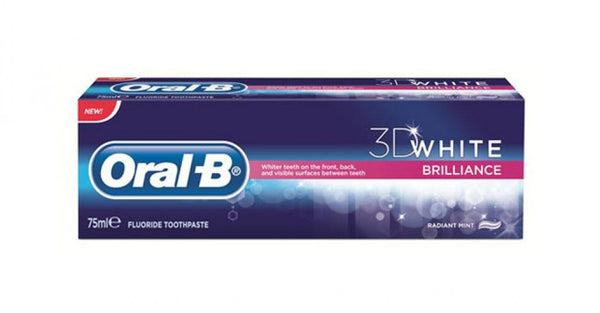 Oral-B 3D White Brilliance Toothpaste 75ml