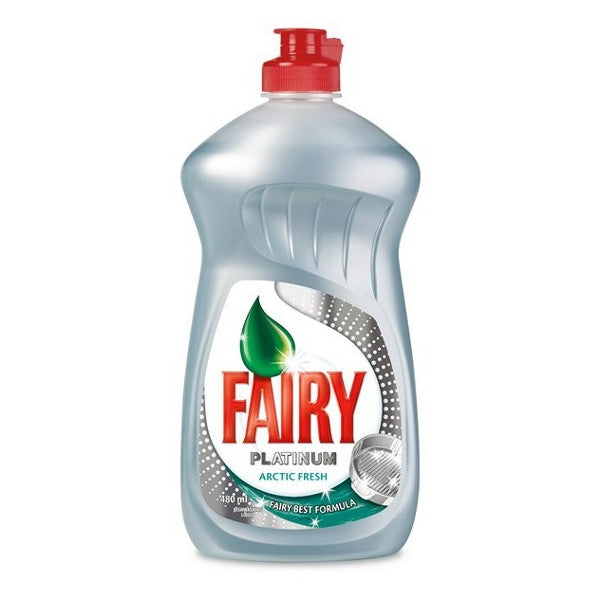 Fairy Platinum Arctic Fresh Washing Up liquid 480ml