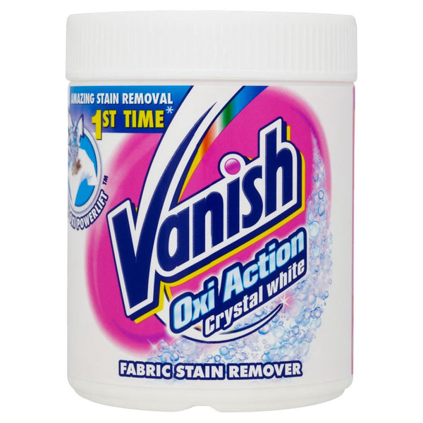Vanish Oxi Action Crystal White Fabric Stain Remover 900g