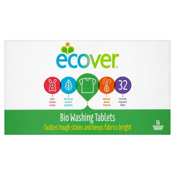Ecover Biological Washing Tablets 32 per pack