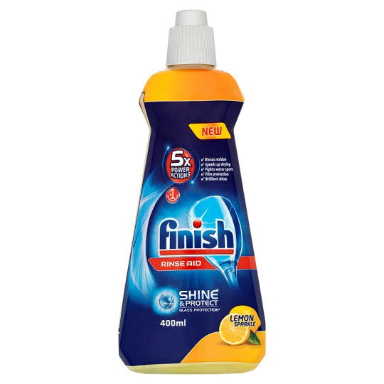 Finish Crystal Rinse Aid Lemon 400ml