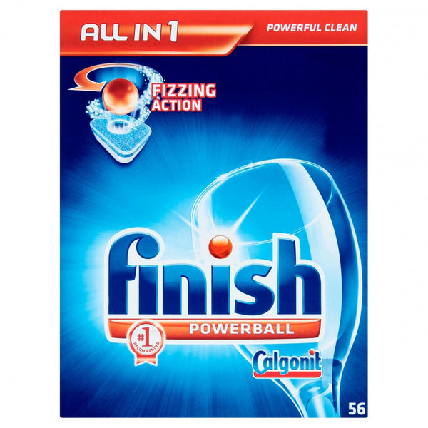 Finish All in 1 Dishwasher Tablets Original 56'S