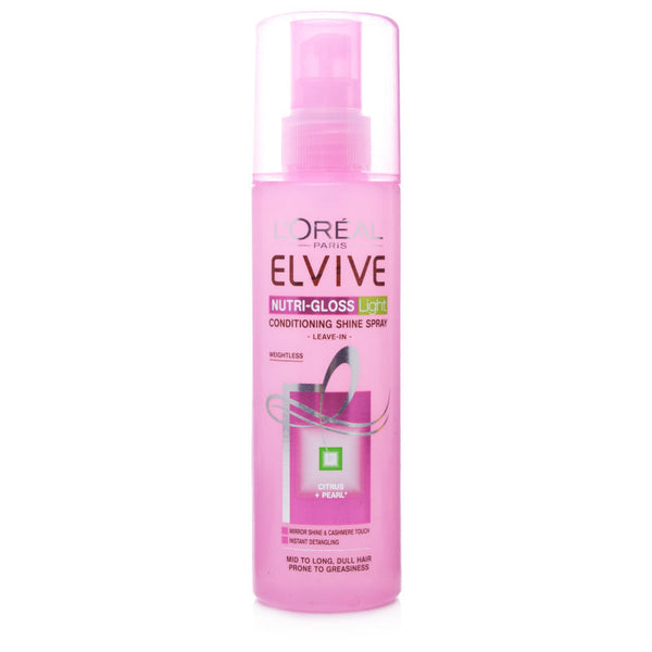 L'Oreal Elvive Nutri-Gloss Light Conditioning Shine Spray