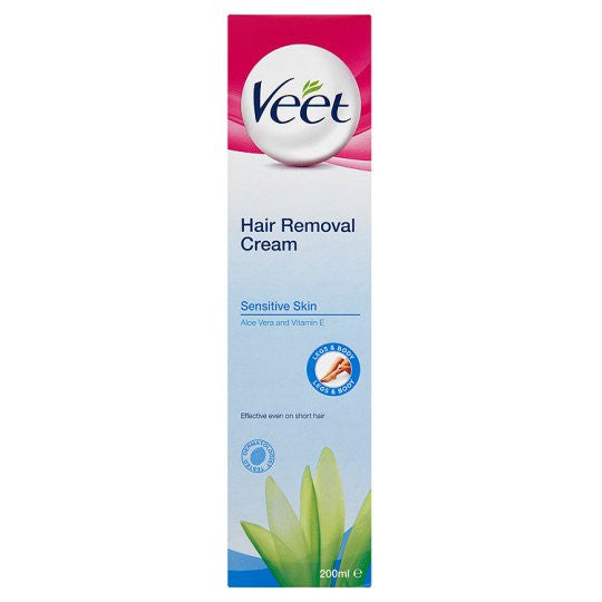 Veet 200ml 5 min Hair Removal Cream Sensitive Skin