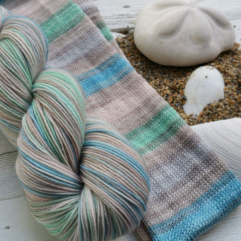 The Shell Seekers - Dye to Order - Must Match Sock
