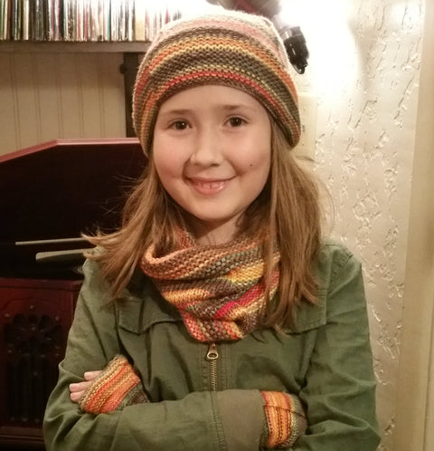 Let's Go Camping Cowl Pattern - Camp KAL 2017