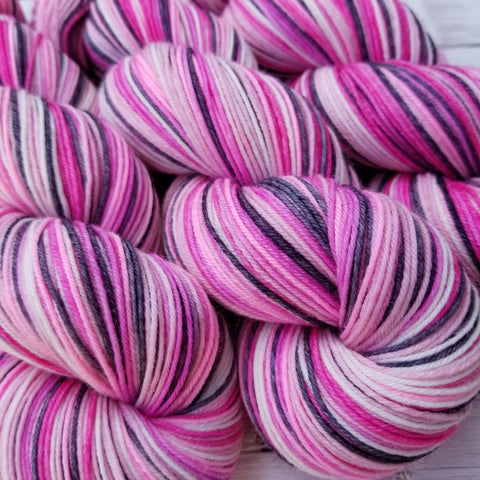 Je t'aime -Must Match Sock - Must Stash self striping sock yarn fun colorful knitting large skein twin matching double