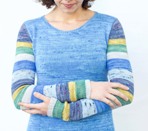 Build Your Own Sock Arm Sweater