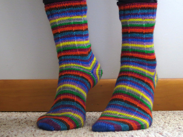 10 Days of Fiesta -must match sock - Must Stash self striping sock yarn fun colorful knitting large skein twin matching double