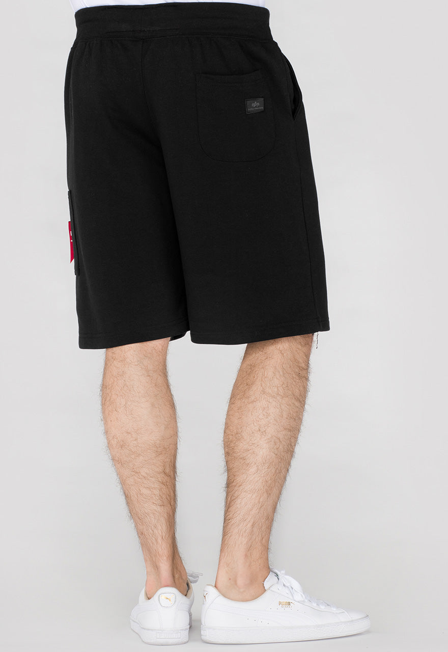 Alpha Industries X-FIT CARGO SHORT WITH POCKET Black