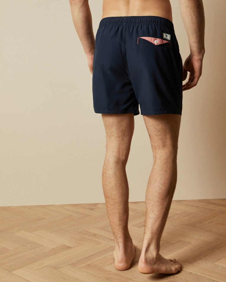 Ted Baker RIPLEY PLAIN SWIM SHORTS Navy