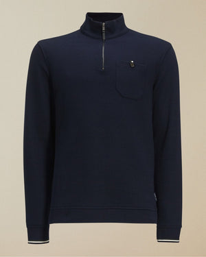 Ted Baker FLOSS FUNNEL NECK JUMPER Navy