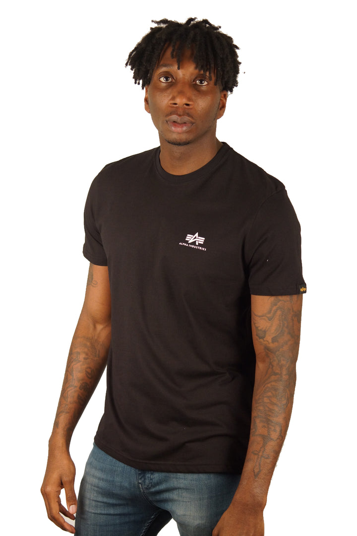 Alpha Industries S/S BASIC TEE Black