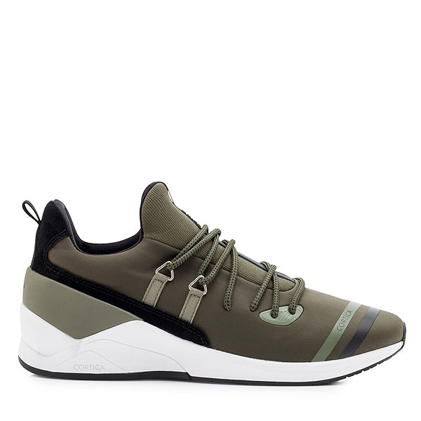 Cortica PENDULUM LACE UP TRAINER DEEP LICHEN
