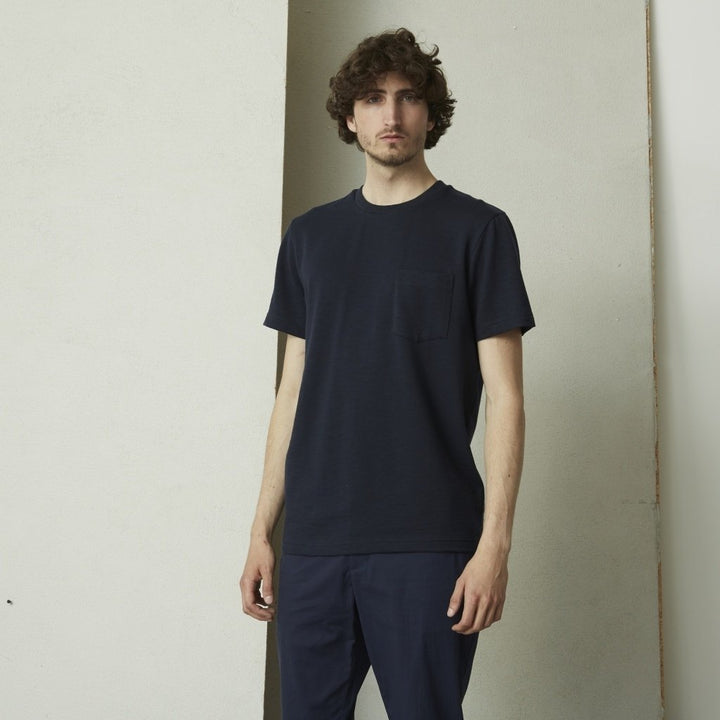 SUIT S/S BJORN POCKET TEE Navy