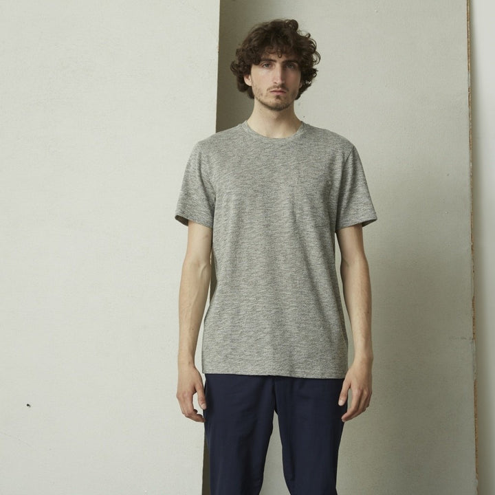 SUIT S/S BJORN POCKET TEE Grey
