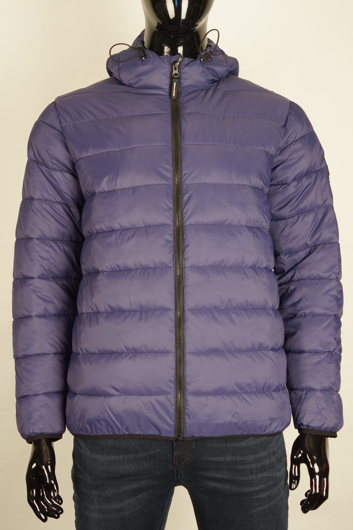 Weekend Offender FRAZIER PUFFER JACKET Navy