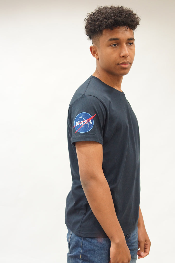 Alpha Industries S/S NASA TEE Blue
