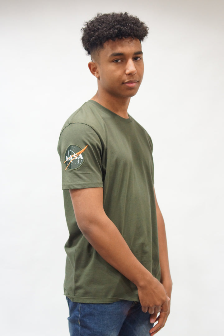 Alpha Industries S/S NASA TEE Olive