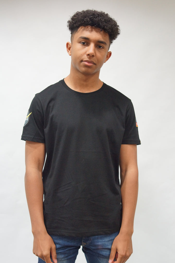 Alpha Industries S/S NASA TEE Black
