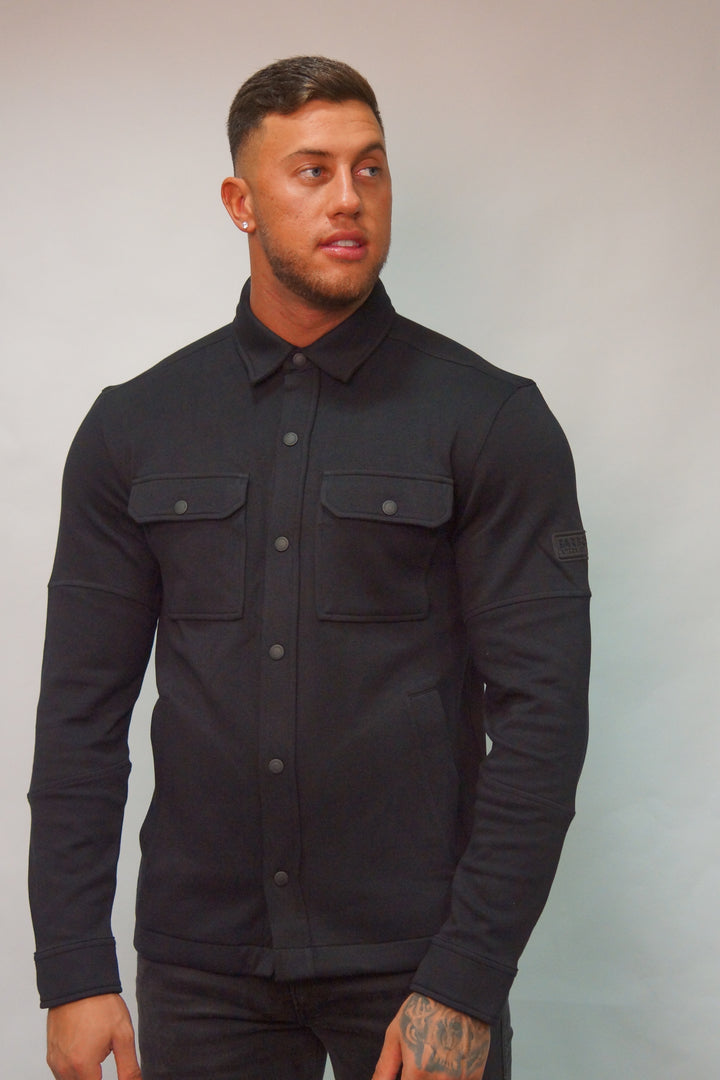 Barbour B. INTL TYRE OVER SHIRT Black