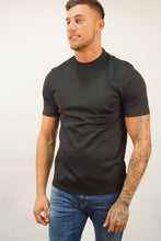 J. Lindeberg S/S ACE SMOOTH CREW TEE Black