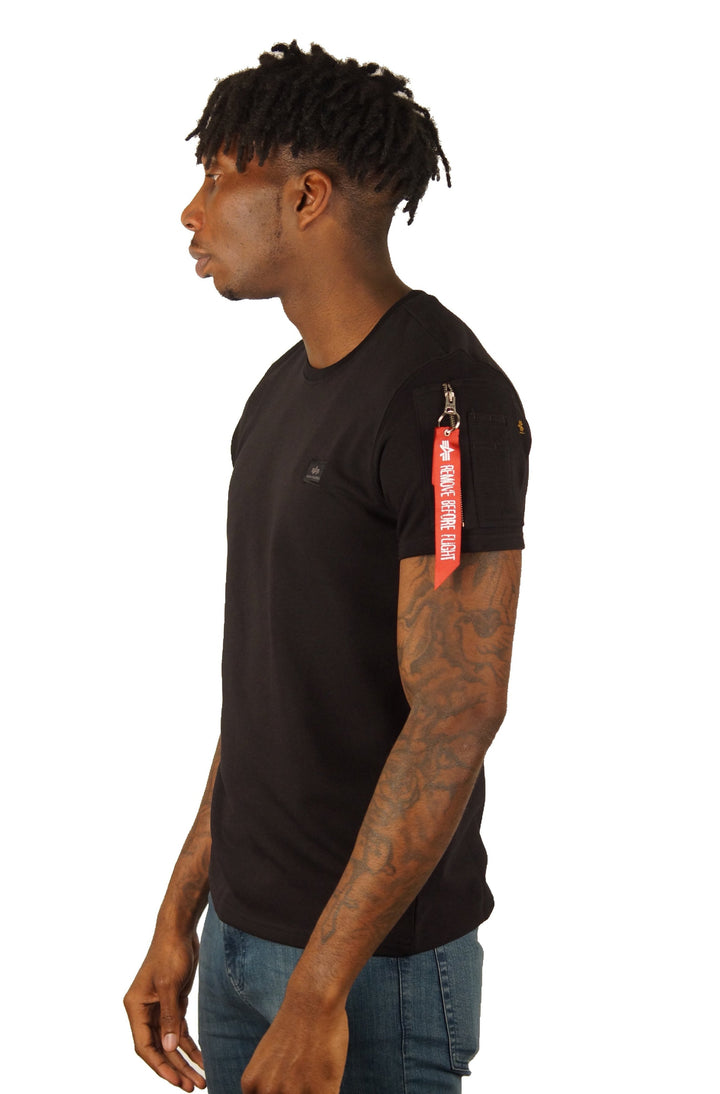 Alpha Industries X-FIT HEAVY TEE Black