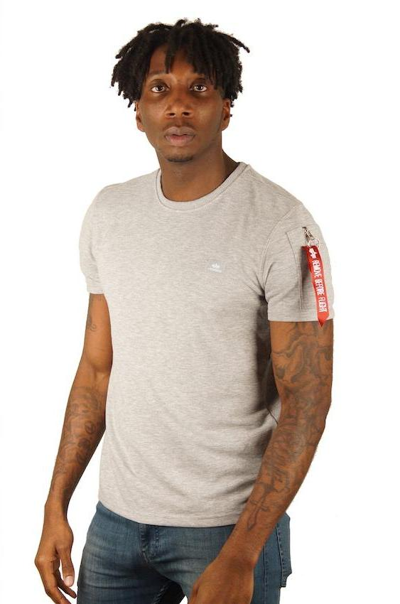 Alpha Industries X-FIT HEAVY TEE Grey