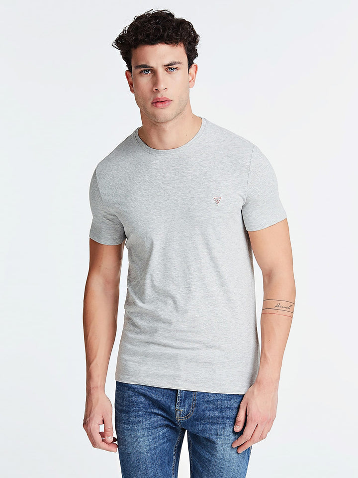 GUESS S/S 100 CORE TEE Grey