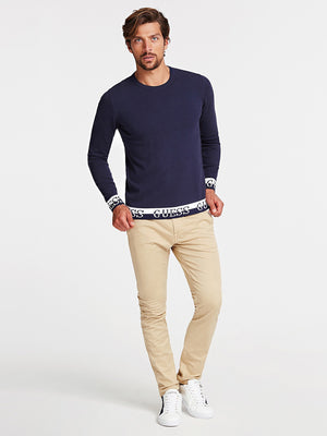 GUESS NAT SWEATER Navy