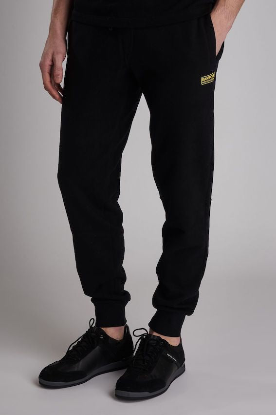 Barbour B. INTL ESSENTAIL JOGGERS Black
