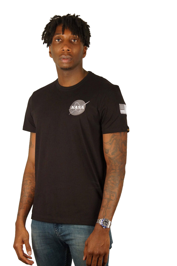 Alpha Industries S/S SPACE SHUTTLE TEE Black