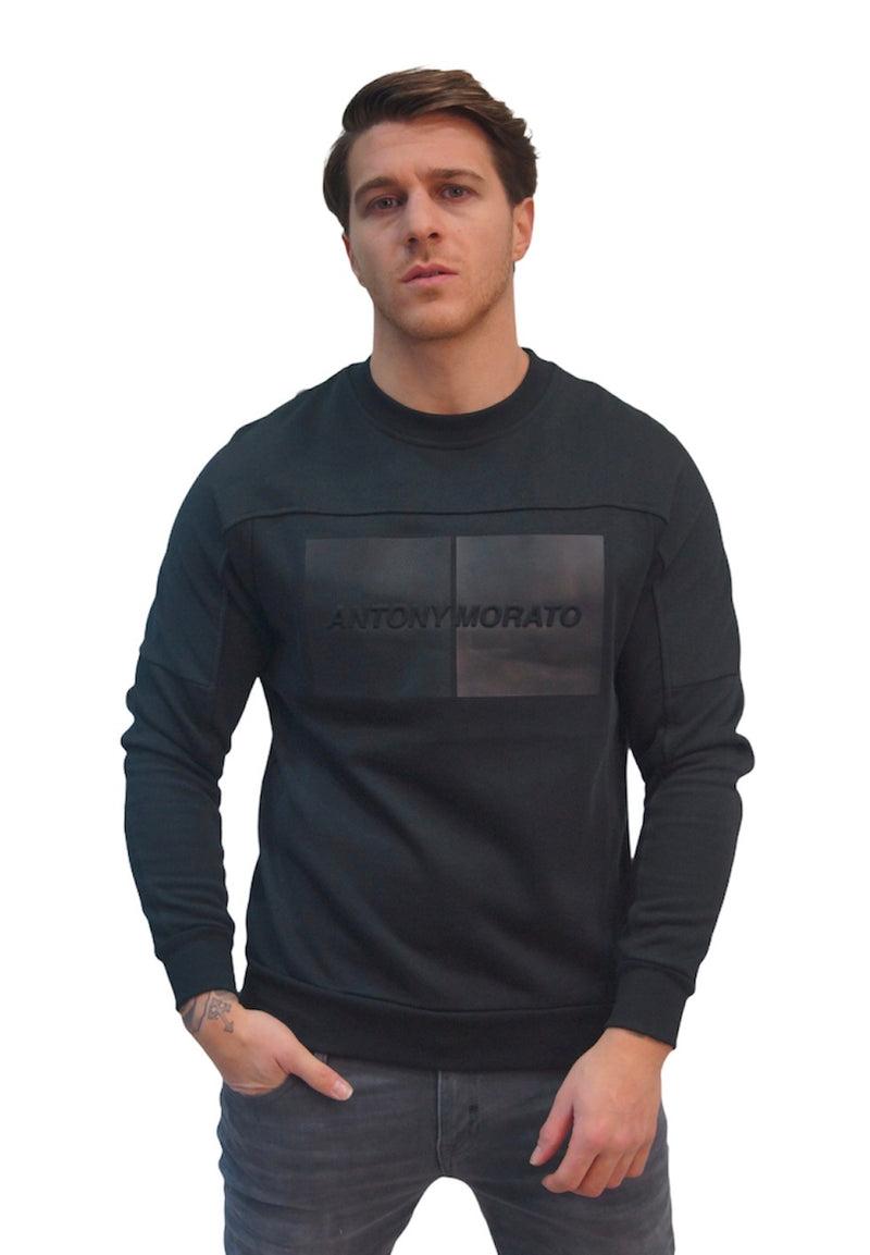 Antony Morato 3D PRINT SWEATER Black